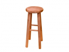 Tabouret pin massif