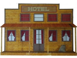 Facade far west hotel