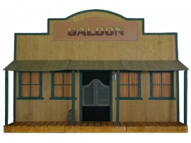 Facade far west saloon