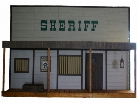 Facade far west sheriff