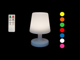 Lampe de table  sur batterie